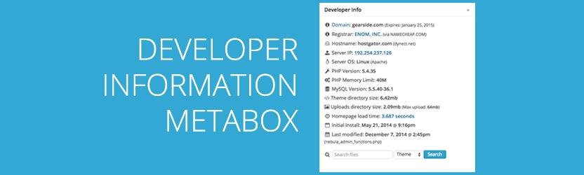developer-info-metabox